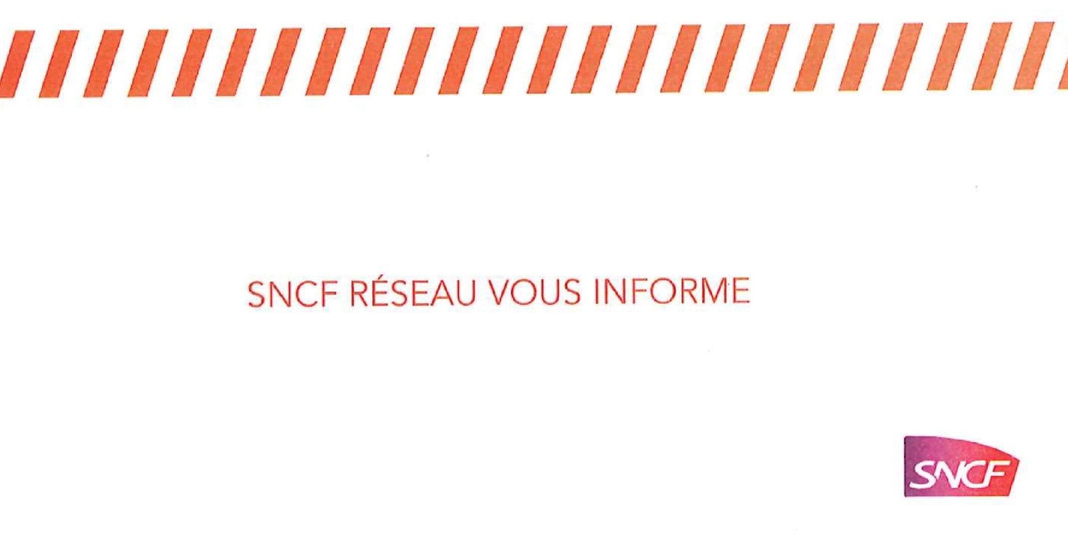 SNCF RESEAU VOUS INFORME