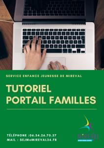 Tutoriel Portail Familles - SEJM